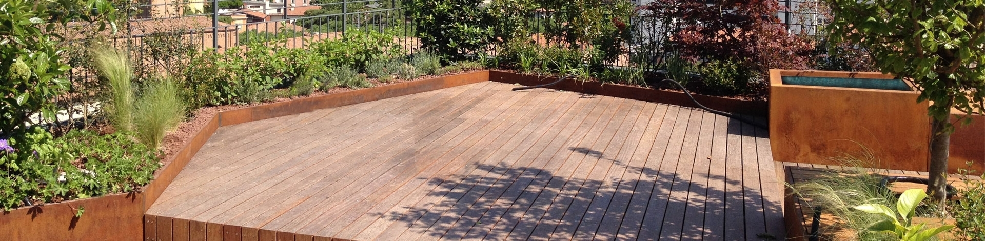 Realizzazione terrazze progettare un terrazzo for Progettare un terrazzo giardino