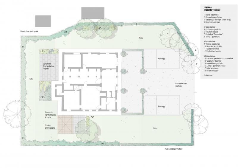 Giardino privato bologna - Progetto giardino privato ...